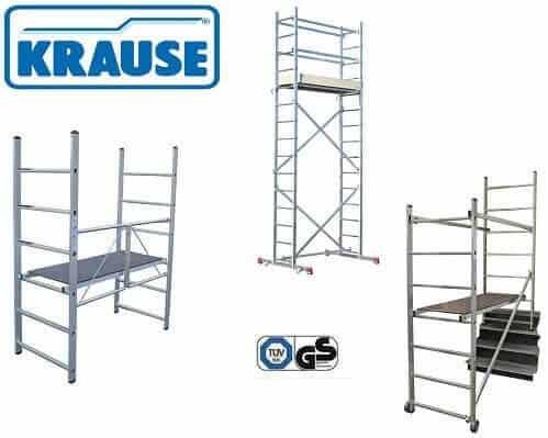 Krause CORDA® Gerueste - Serie für den Privatgebrauch