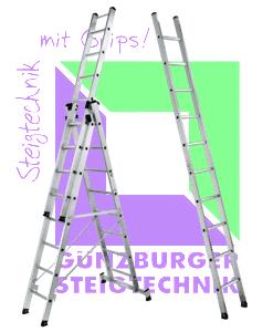 Günzburger Steigtechnik Leitern und Podeste/Tritte