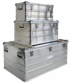Transportkiste Alu - Günzburger Steigtechnik ( Transportbox / Aluminiumbox / Behälter )